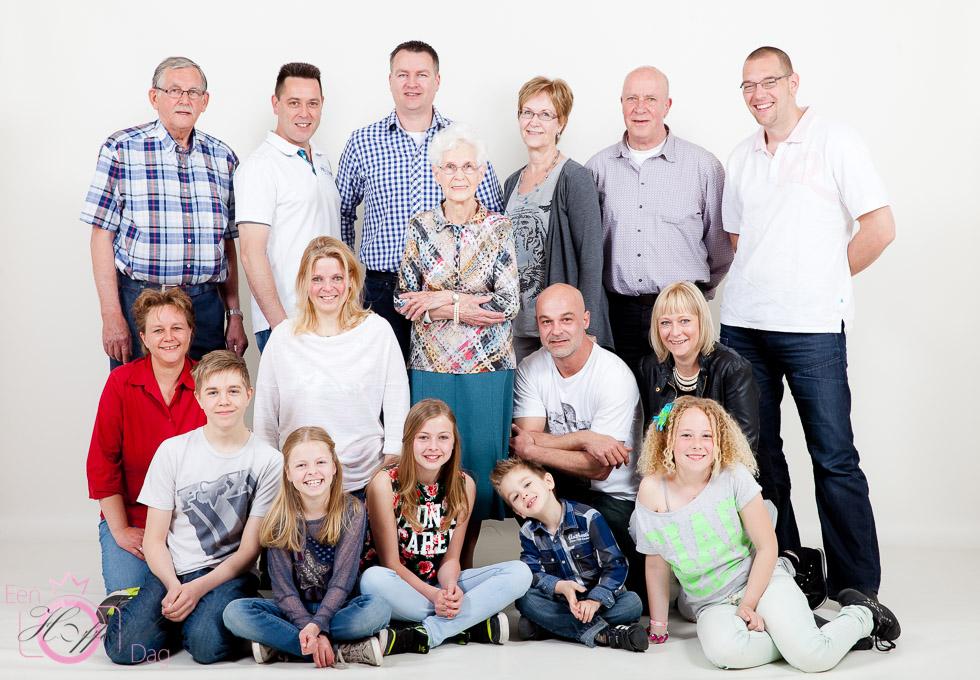 Groepsfoto Fotoshoot Familie | Fotostudio Rotterdam