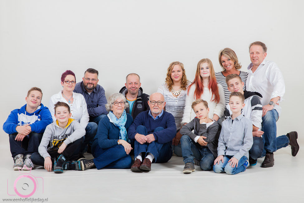 Familiefotoshoot in de studio (1)
