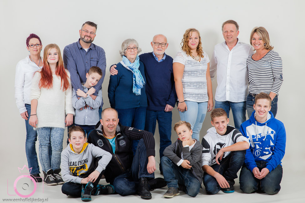 Familiefotoshoot in de studio (2)