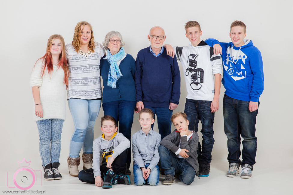 Familiefotoshoot in de studio (3)