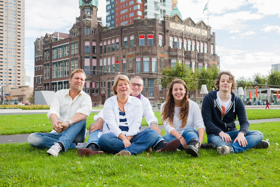 Familiefotografie Rotterdam   Gezinsfotoshoot op de Wilhelminapier (2)